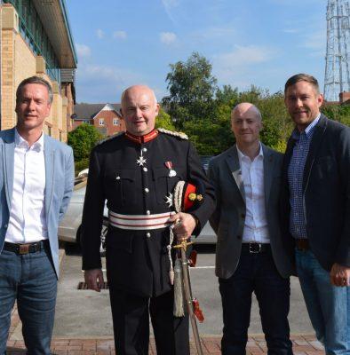 Lord Lieutenant visit