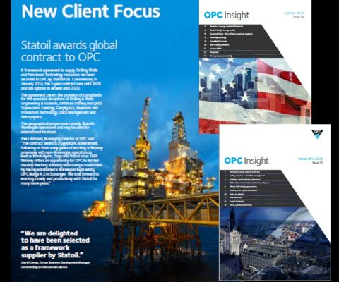 Retained marketing for oil & gas consultancy